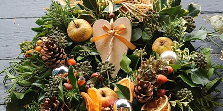 Christmas Wreath Workshop with Festive Afternoon Tea tickets