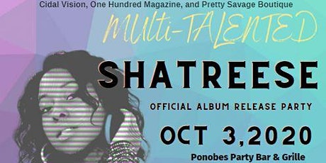 Shatreese Album Release Party tickets