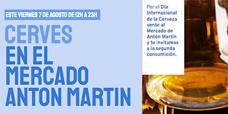 Cerves en el Mercado de Antón Martín entradas