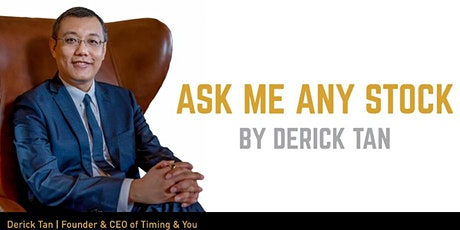 [FREE ] Ask Me Any Stock with Derick Tan, 9 August 2020 tickets