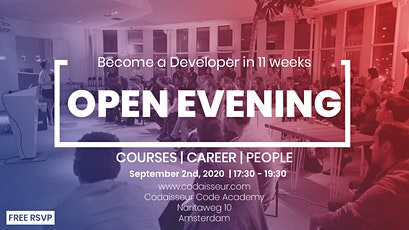 Codaisseur Academy Open Evening tickets