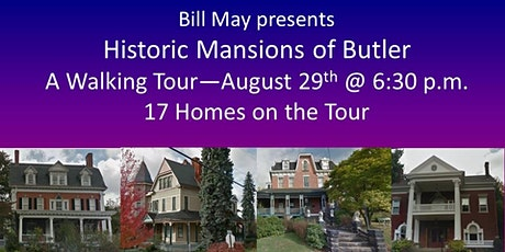Historic Mansions of Butler Walking Tour tickets