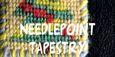Introduction/Beginners  to Hand Needlepoint Tapestry  With Sewing Treasures tickets
