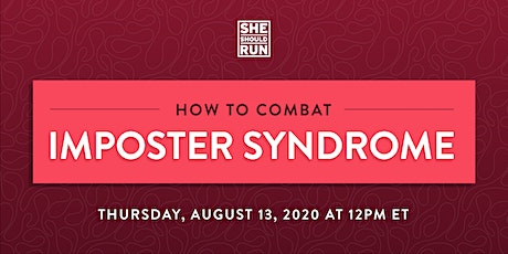 How to Combat Imposter Syndrome tickets