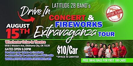 Latitude28's Drive-In Concert & Fireworks Extravaganza! (Oklahoma City, OK) tickets