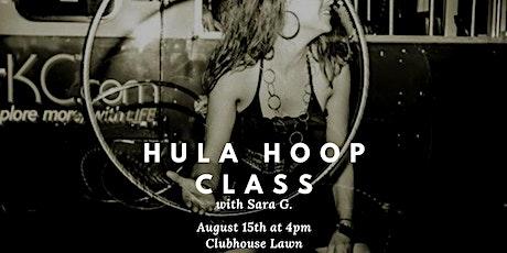 Hula Hoop with Sara G. tickets