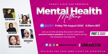 Mental Health Matters: Part 3 - Young Minds tickets