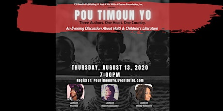 Pou Timoun Yo:  Three Authors. One Heart. One Country tickets