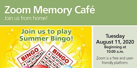 Arden Courts' Zoom Memory Cafe: Summer Bingo tickets