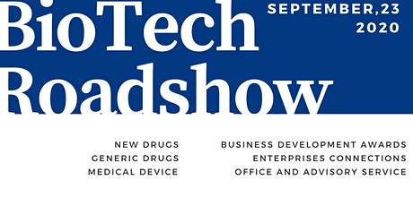 2020 Taizhou Shanghai Innovation Center BioTech Roadshow tickets