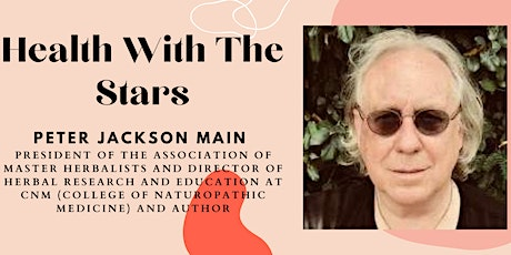 Herbal Medicine With Peter Jackson Main tickets