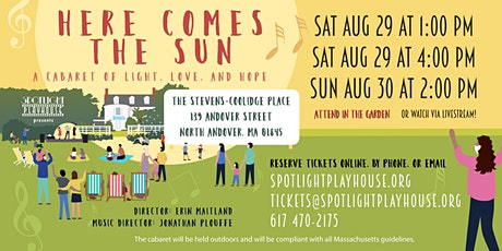 Here Comes the Sun – a Cabaret of Light, Love, and Hope tickets