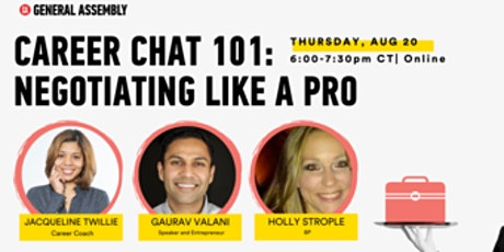 Career Chat 101: Negotiating Like a Pro tickets
