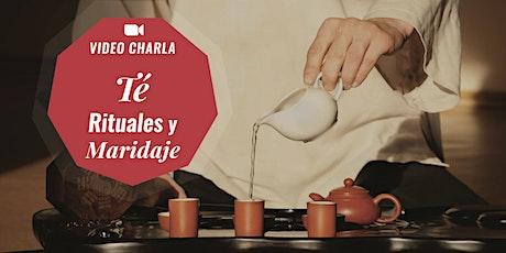 "Video Charla ""Té. Rituales y Maridaje"". Momentos Creativos entradas"