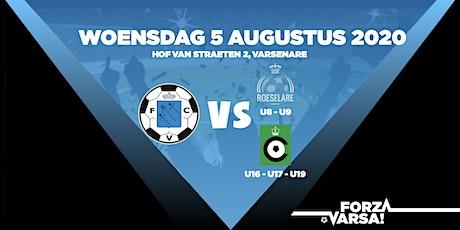 KFC Varsenare - Cercle Brugge KSV (U16 -U17) tickets