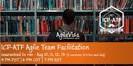 ICAgile Agile Team Facilitation (ICP-ATF) Certification Online Class tickets