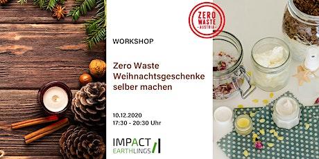 Zero Waste Weihnachtsgeschenke selber machen – Teil 1 Tickets
