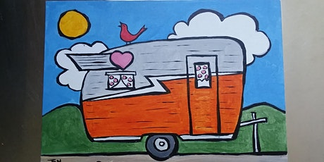 Art and Ale - Happy Camper - Seven Sisters Brewery w/ Abby Wilner tickets