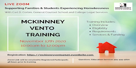 McKinney Vento Training tickets