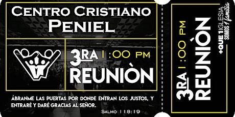 3ra Reunión Peniel boletos