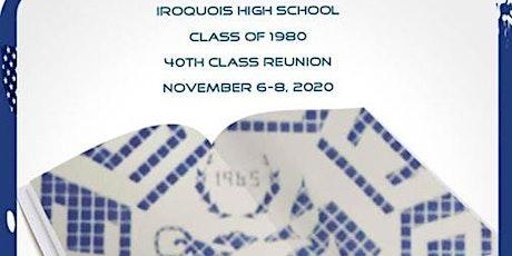 Iroquois High School 40th Class Reunion tickets