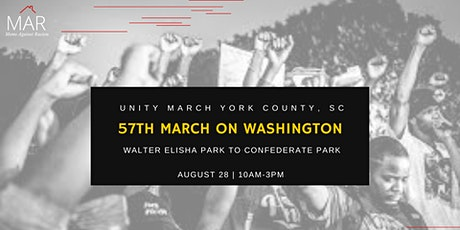 Unity March York County, South Carolina-57th March On Washington tickets