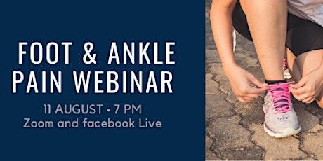 Foot & Ankle Pain Webinar tickets
