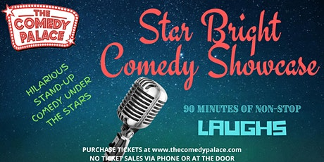 Star Bright Comedy Showcase with Headliner Deric Poston tickets