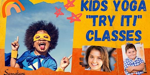 "Free Online Kids Yoga ""Try It!"" Classes at Samskara Yoga"