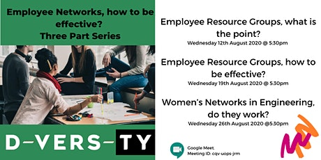 Employee Networks, how to be effective?  Three Part Series tickets