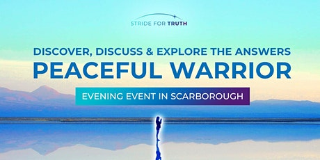Peaceful Warrior Evening in Scarborough tickets