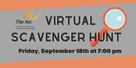 The Arc's Virtual Scavenger Hunt tickets