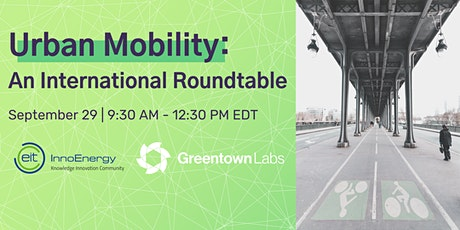 Urban Mobility: An International Roundtable tickets