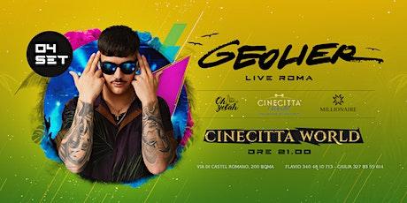 Geolier Live Roma biglietti