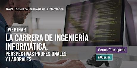 Carrera de ingeniería informática, perspectivas profesionales y laborales. entradas