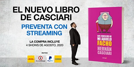 NUEVO LIBROS DE HERNÁN CASCIARI: «Preventa con Streaming» (USD) entradas