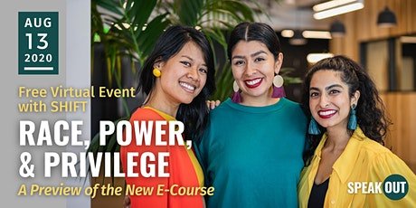 Race, Power, and Privilege: A Preview of the New E-Course with SHIFT tickets