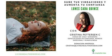 Sube tus Vibraciones y Aumenta tu Confianza con Cristina Pettersen biglietti