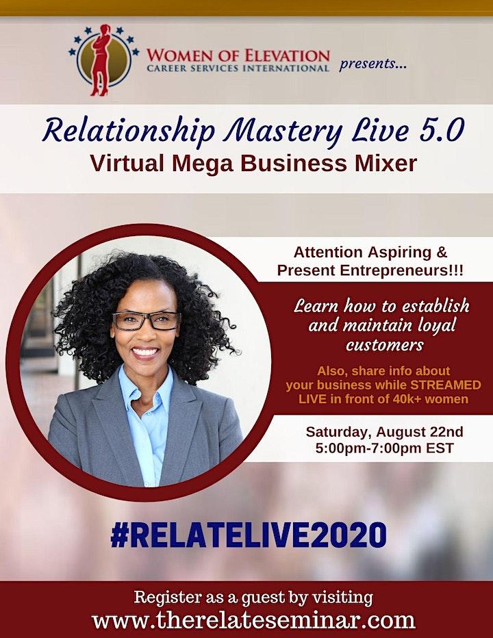 Relate 2020 LIVE - Virtual Mega Business Mixer image