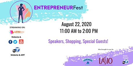 LATINAFest presents: EntrepreneurFest 2020 tickets