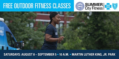 Summer City Fitness Free In-Person Outdoor Classes tickets