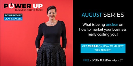Power Up  Round Table  - FREE - Marketing tickets