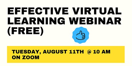 Step By Step Guide For Effective Virtual Learning School tickets