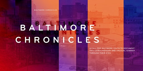 Baltimore Chronicles Filmmaker Workshops tickets