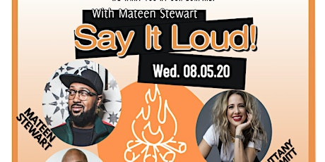 100% of proceeds goes to artist! Say It Loud With Mateen Stewart tickets