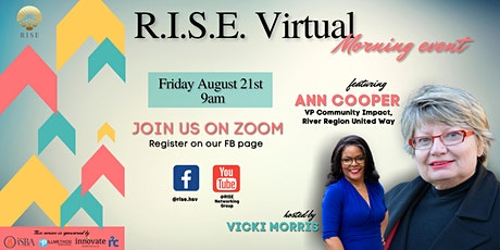 R.I.S.E. Virtual Networking Event tickets