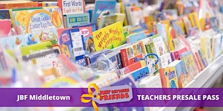 Teacher Presale pass   Sept 12th   JBF Middletown Fall 2020 tickets