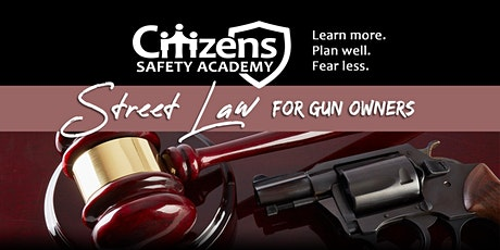 Street Law for Gun Owners tickets