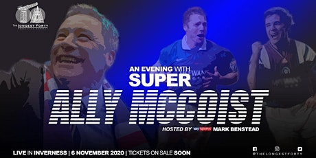 An  Evening with Super Ally McCoist tickets