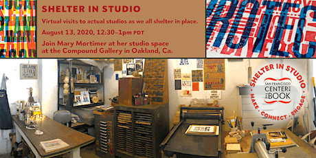 SFCB Shelter in Studio tour with Mary Mortimer at the Compound Gallery tickets